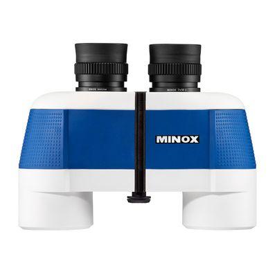 Für weitere Info hier klicken. Artikel: Minox BN 7x50 II blau-weiß