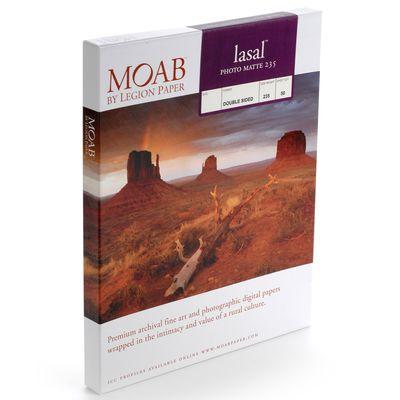 Für weitere Info hier klicken. Artikel: Moab Lasal Photo Matte 230/235 A3+ (13 x 19 Zoll) 50 Blatt
