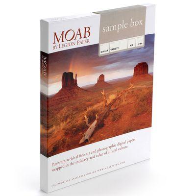 Für weitere Info hier klicken. Artikel: Moab SAMPLE BOXES A4 24 Blatt