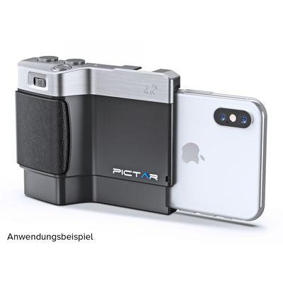 Für weitere Info hier klicken. Artikel: MyMiggö Smartphone Camera Grip Pictar OnePlus Mark II silber-schwarz