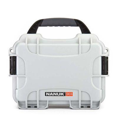 Für weitere Info hier klicken. Artikel: Nanuk Case w/foam 903-1005 silber