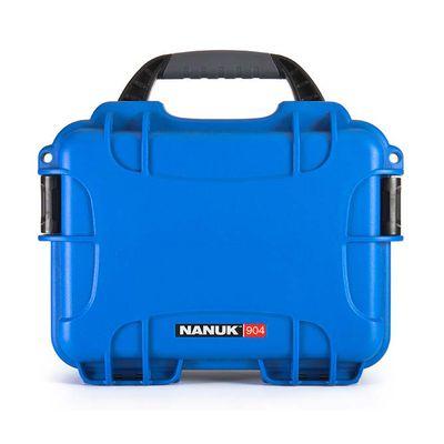 Für weitere Info hier klicken. Artikel: Nanuk Case w/foam 904-1008 blau