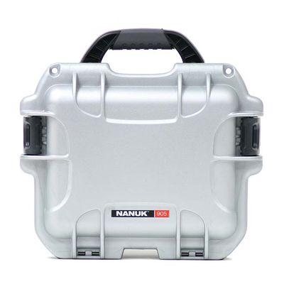 Für weitere Info hier klicken. Artikel: Nanuk Case w/foam 905-1005 silber