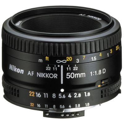 Für weitere Info hier klicken. Artikel: Nikon AF Nikkor 50mm f/1,8 D Nikon FX