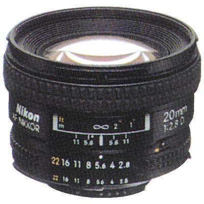 Für weitere Info hier klicken. Artikel: Nikon AF 2,8/20 D Nikon FX