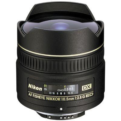 Für weitere Info hier klicken. Artikel: Nikon AF DX 2,8/10,5 G ED Fisheye Nikon DX