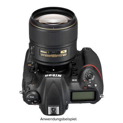 Für weitere Info hier klicken. Artikel: Nikon AF-S Nikkor E 105mm f/1,4 ED Nikon FX