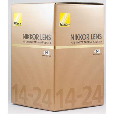 Für weitere Info hier klicken. Artikel: Nikon AF-S Nikkor 14-24mm f/2,8 G ED Nikon FX