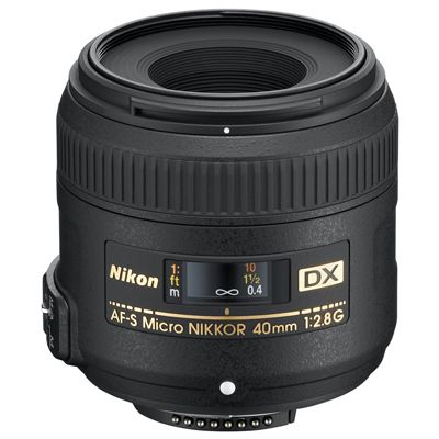 Für weitere Info hier klicken. Artikel: Nikon AF-S DX 2,8/40 Micro G Nikon DX
