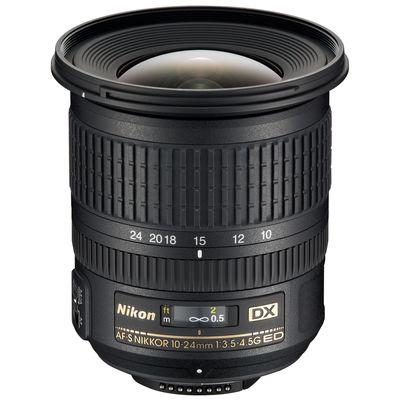 Für weitere Info hier klicken. Artikel: Nikon AF-S DX 3,5-4,5/10-24 G ED Demo