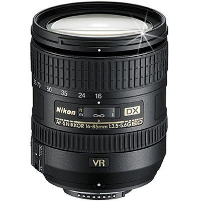 Für weitere Info hier klicken. Artikel: Nikon AF-S DX 3,5-5,6/16-85 G-ED VR Nikon DX