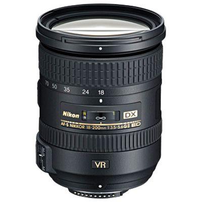 Für weitere Info hier klicken. Artikel: Nikon AF-S DX 3,5-5,6/18-200 G ED VR II Nikon DX