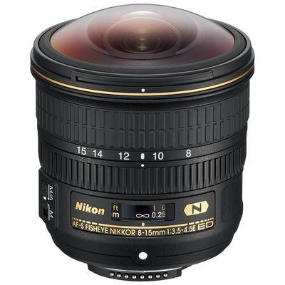 Für weitere Info hier klicken. Artikel: Nikon AF-S NIKKOR 3,5-4,5/8-15 ED Fisheye