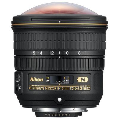 Für weitere Info hier klicken. Artikel: Nikon AF-S NIKKOR E 8-15mm f/3,5-4,5 ED Fisheye