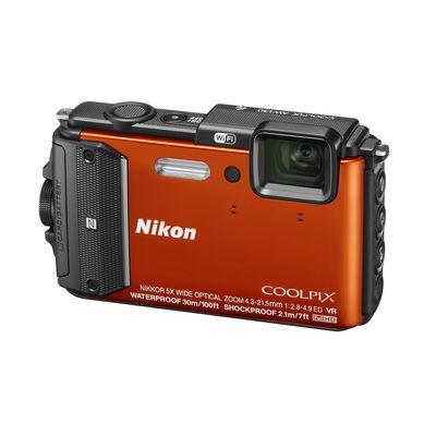 Für weitere Info hier klicken. Artikel: Nikon Coolpix AW130 orange