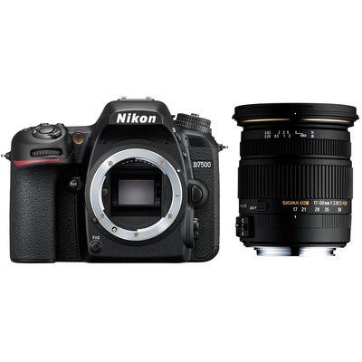 Für weitere Info hier klicken. Artikel: Nikon D7500 + Sigma AF 17-50mm f/2,8 EX DC OS HSM Nikon DX
