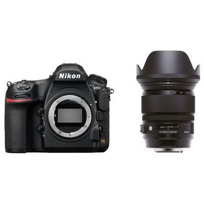 Für weitere Info hier klicken. Artikel: Nikon D850 + Sigma AF 24-105mm f/4 DG OS HSM A Nikon FX