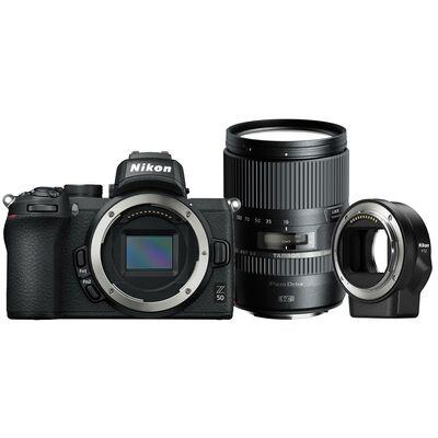 Für weitere Info hier klicken. Artikel: Nikon Nikon Z50 + FTZ + Tamron AF 16-300mm f/3,5-6,3 Di II VC PZD