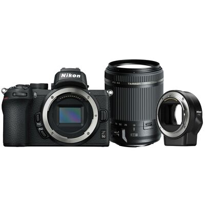 Für weitere Info hier klicken. Artikel: Nikon Nikon Z50 + FTZ + Tamron AF 18-200mm f/3,5-6,3 Di II VC