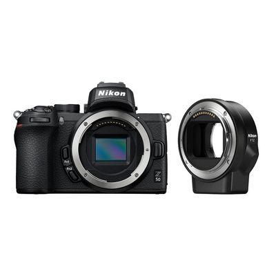 Für weitere Info hier klicken. Artikel: Nikon Z50 + FTZ Objektivadapter