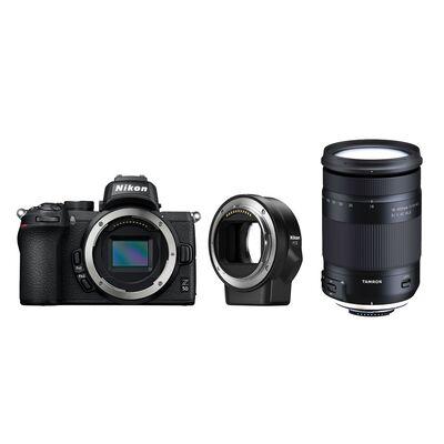 Für weitere Info hier klicken. Artikel: Nikon Z50 + Tamron AF 18-400mm f/3,5-6,3 Di II VC HLD + FTZ