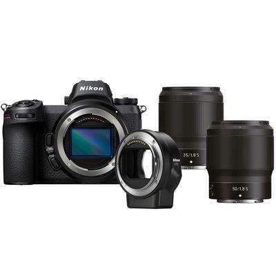 Für weitere Info hier klicken. Artikel: Nikon Z6, 1,8/35 S + 1,8/50 S + FTZ Objektivadapter