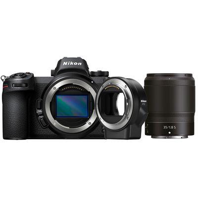 Für weitere Info hier klicken. Artikel: Nikon Z6, 1,8/35 S + FTZ Objektivadapter