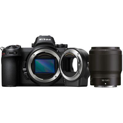 Für weitere Info hier klicken. Artikel: Nikon Z6, 1,8/50 S + FTZ Objektivadapter