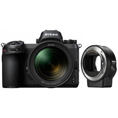 Für weitere Info hier klicken. Artikel: Nikon Z6, 4,0/24-70 S + FTZ Objektivadapter