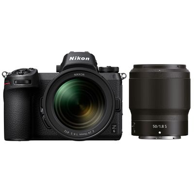 Für weitere Info hier klicken. Artikel: Nikon Z6, 4,0/24-70 S + Nikkor Z 50mm f/1,8 S