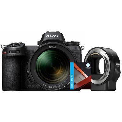Für weitere Info hier klicken. Artikel: Nikon Z6, FTZ Objektivadapter, AF 24-70 + Capture One Pro 12