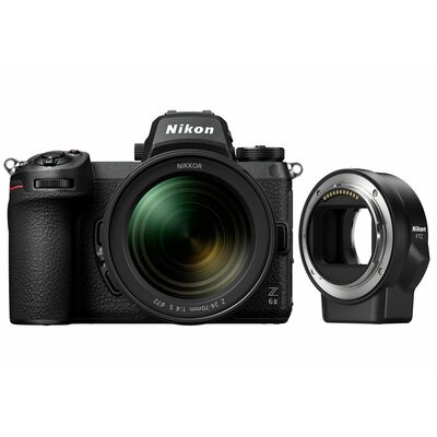 Für weitere Info hier klicken. Artikel: Nikon Z6 II + Nikkor Z 24-70mm f/4,0 S + FTZ Objektivadapter