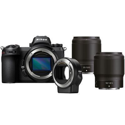 Für weitere Info hier klicken. Artikel: Nikon Z7, 1,8/35 S + 1,8/50 S + FTZ Objektivadapter