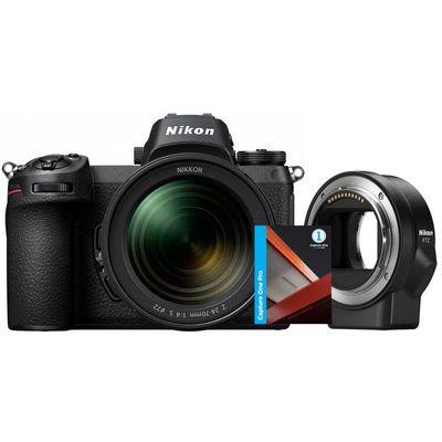 Für weitere Info hier klicken. Artikel: Nikon Z7, FTZ Objektivadapter, AF 24-70 + Capture One Pro 12
