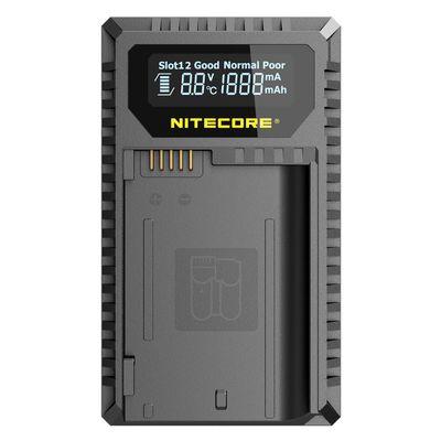 Für weitere Info hier klicken. Artikel: Nitecore USB-Ladegerät mit LCD-Display UNK2 für Nikon EN-EL15