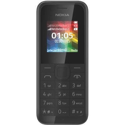 Für weitere Info hier klicken. Artikel: Nokia Dual Sim 105 schwarz
