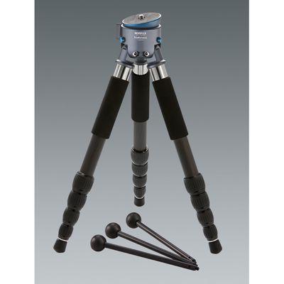 Für weitere Info hier klicken. Artikel: Novoflex 3-Bein Stativ m. Kalotte, 5-Segment Carbonbeinen Traveller, 3 austauschbaren Minibeinen und Stativtasche
