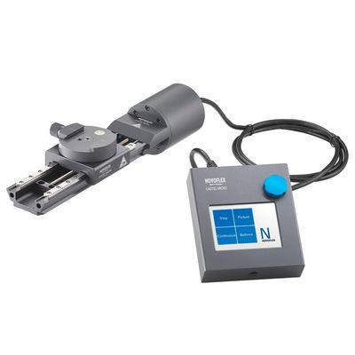 Für weitere Info hier klicken. Artikel: Novoflex CASTEL-MICRO Einstellschlitten, elektronisch gesteuert, inkl. Steuergerät, Netzwerkkabel und Netzteil