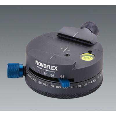 Für weitere Info hier klicken. Artikel: Novoflex Panoramaplatte mit Schnellkupplung Gravur 360 Grad Rasterung 16/30/36/48