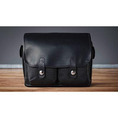 Für weitere Info hier klicken. Artikel: Oberwerth Fototasche Heidelberg Cordura-Leder schwarz-schwarz