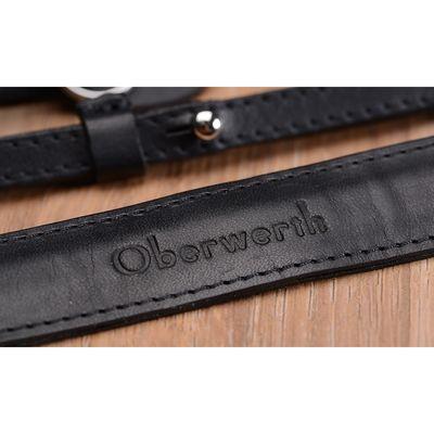 Für weitere Info hier klicken. Artikel: Oberwerth Kameragurt Spiegellos - Mosel Leder schwarz