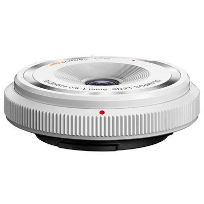 Für weitere Info hier klicken. Artikel: Olympus AF 9mm f/8,0 Body Cap Lens weiß Micro Four Thirds