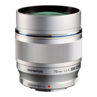 Für weitere Info hier klicken. Artikel: Olympus M.Zuiko AF 75mm f/1,8 ED silber Micro Four Thirds