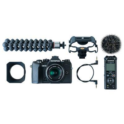 Für weitere Info hier klicken. Artikel: Olympus OM-D E-M 5III + M.Zuiko 12mm f/2 Vlogger Kit schwarz-schwarz