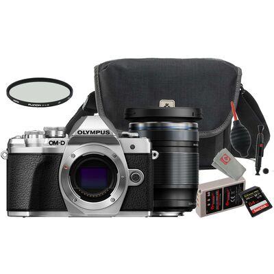 Für weitere Info hier klicken. Artikel: Olympus OM-D E-M10 III + M.Zuiko 12-200mm - Travel Kit silber