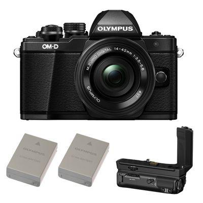 Für weitere Info hier klicken. Artikel: Olympus OM-D E-M5 II, AF2,8/12-40mm Power Kit inkl. HLD-8 Batteriegriff & 2. Akku schwarz