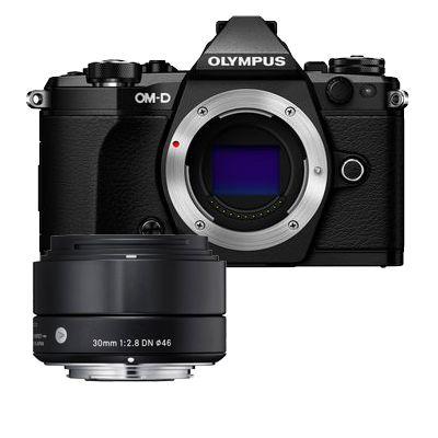 Für weitere Info hier klicken. Artikel: Olympus OM-D E-M5 II, Sigma AF 2,8/30 DN A schwarz