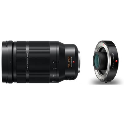 Für weitere Info hier klicken. Artikel: Panasonic AF 50-200mm f/2,8-4,0 Leica DG Vario Elmarit O.I.S. + Panasonic Telekonverter DMW-TC14E MFT