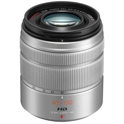 Für weitere Info hier klicken. Artikel: Panasonic AF 4,0-5,6/45-150 asph. silber Micro Four Thirds