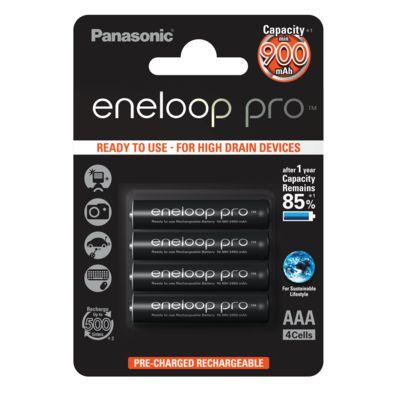 Für weitere Info hier klicken. Artikel: Panasonic Akku eneloop Pro BK-4HCCE/4BE Micro